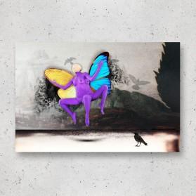 """Mariposa oculta"""